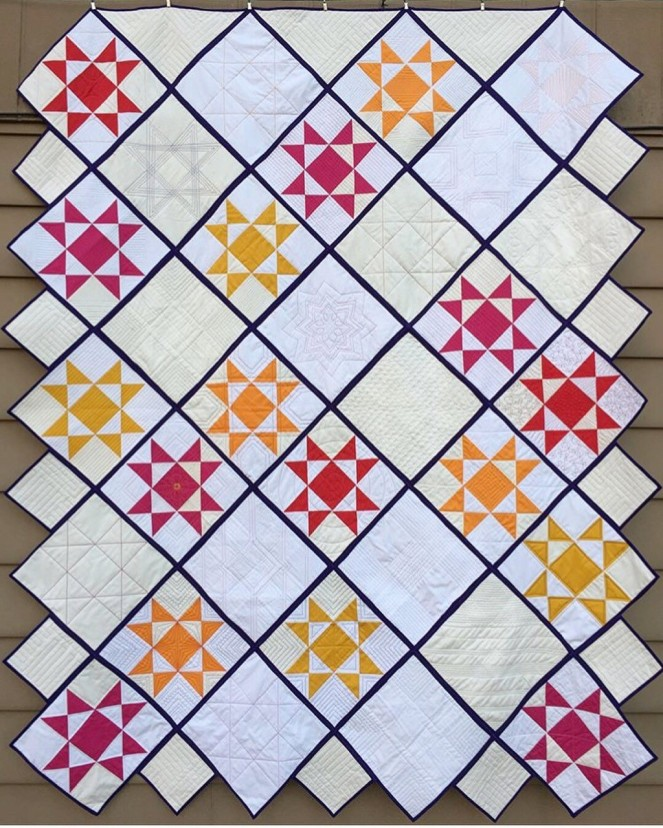 front charity quilt con